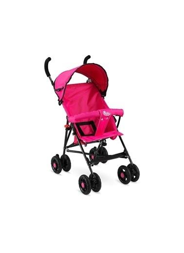 BabyHope Erkek Kız Bebek Baston Bebek Arabası Bbyhp Pembe